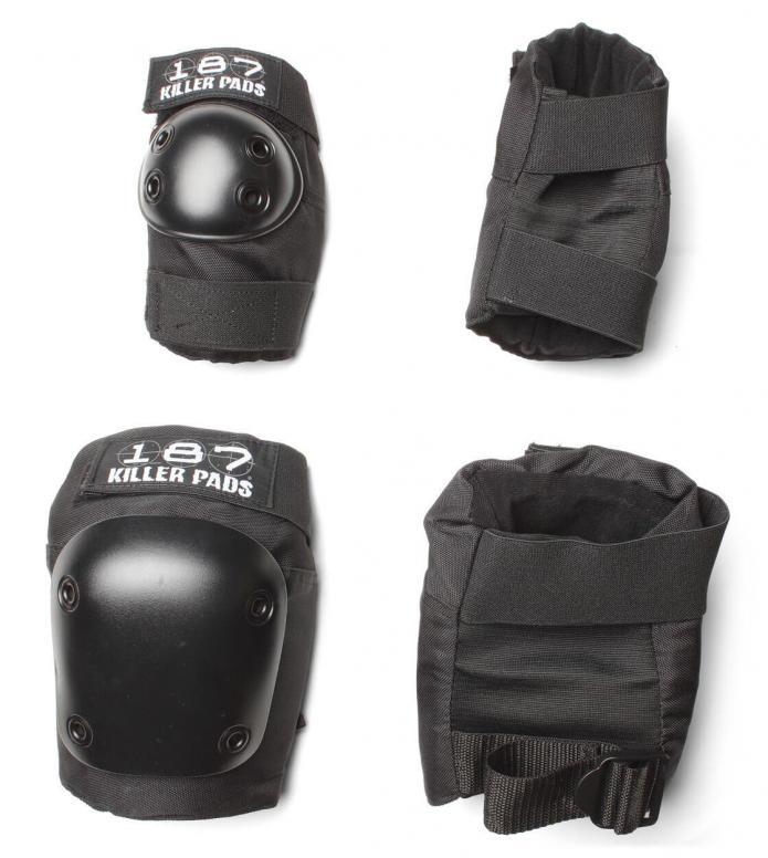 187 Killer Pads Combo Pack black L/LX