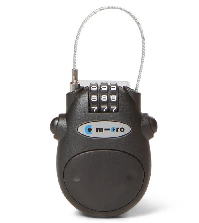 Micro Lock Kabelschloss black one size