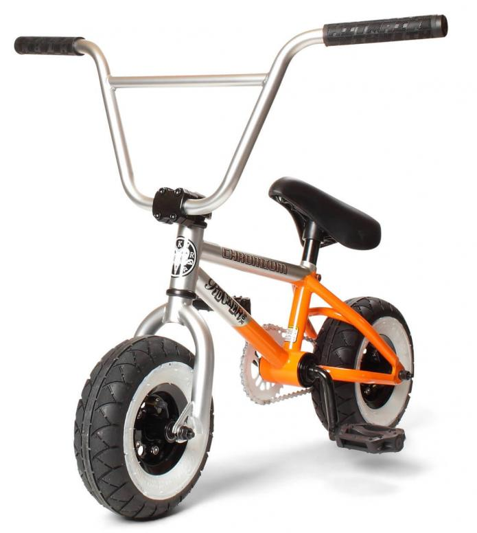 Rocker Rocker Mini BMX irok+ Chromium silver/orange