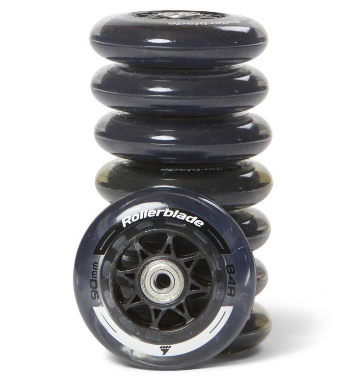 Rollerblade Wheels Performance 90er black/silver 90mm/84A