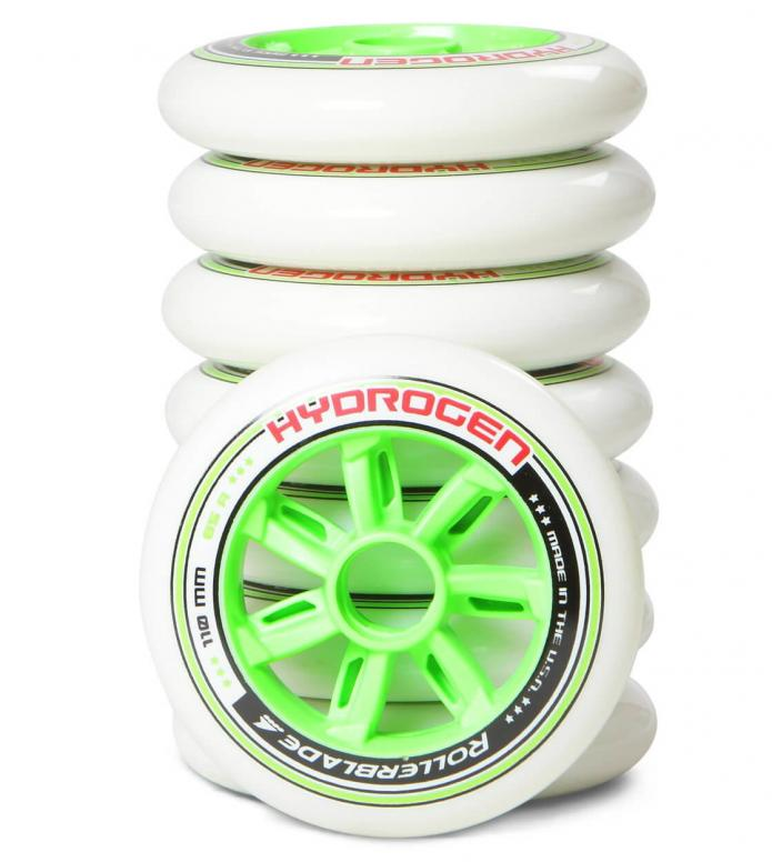Rollerblade Wheels Hydrogen 110er white/green 110mm/85a