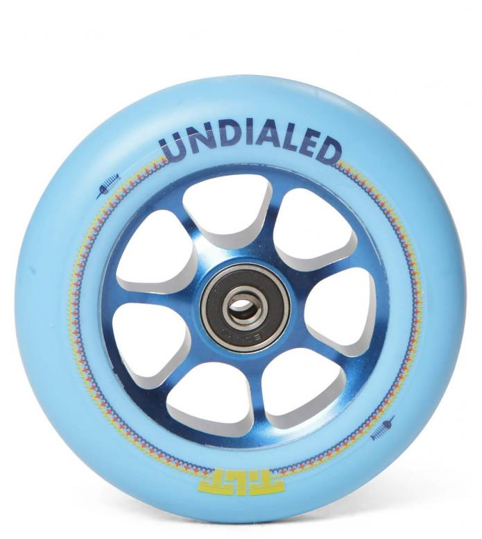 Tilt Wheel X Undialed Stage II 110er blue 110mm