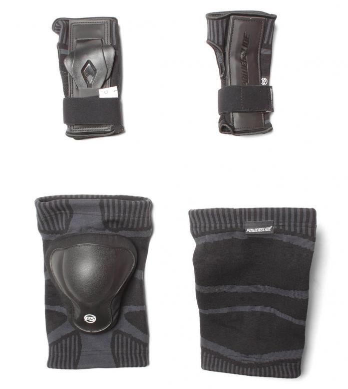 Powerslide Protection Dual Set Onesie black one size