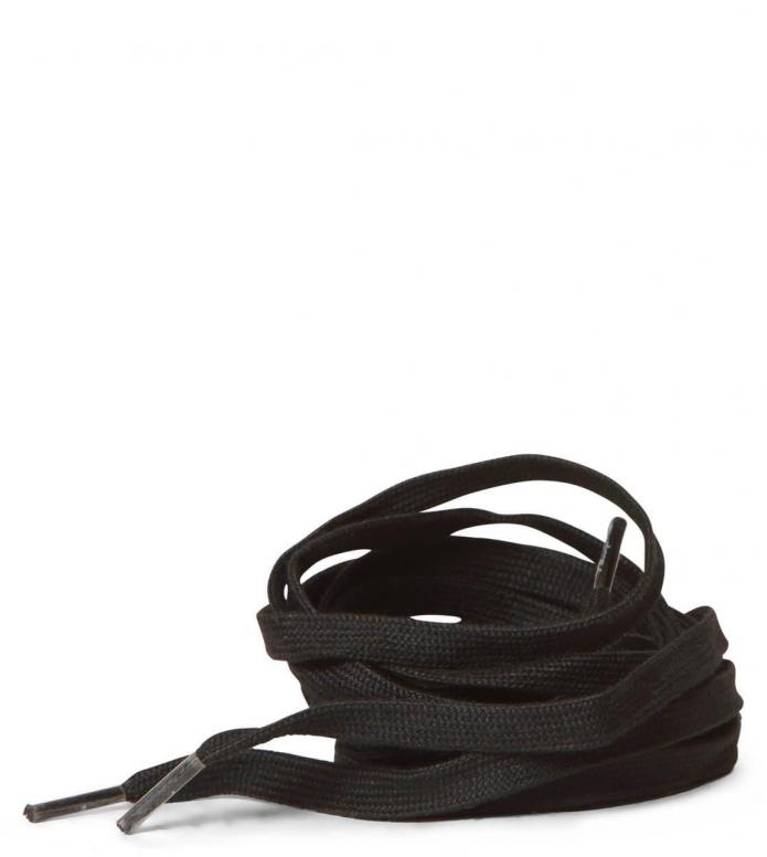 Luigino Laces Waxed black one size