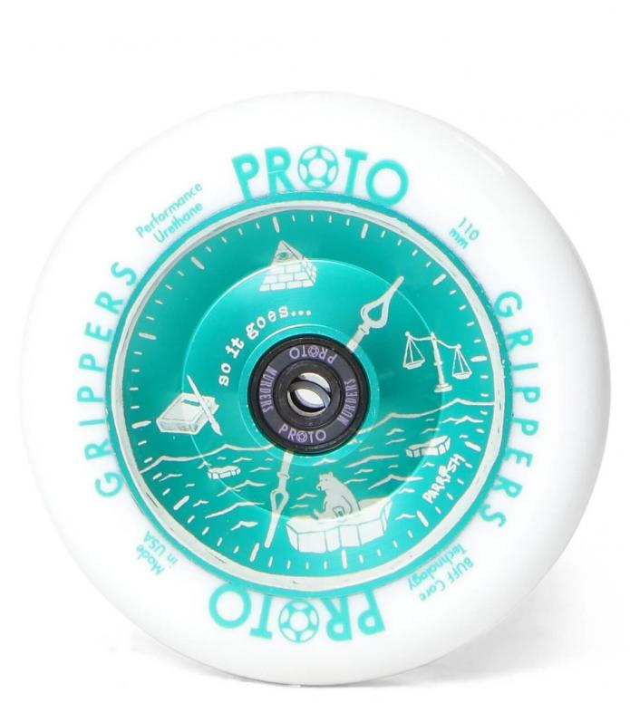 Proto Wheel Gripper Parrish Isaacs 110er white/green mint 110mm