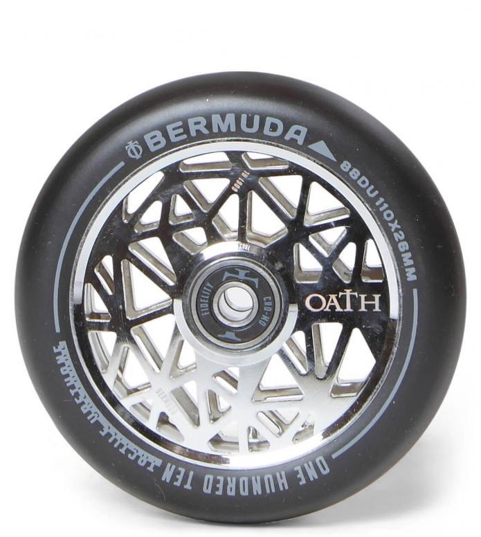 Oath Wheel Bermuda 110er silver/black 110mm