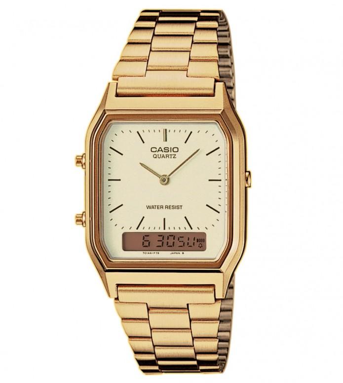 Casio Casio Watch AQ-230GA gold
