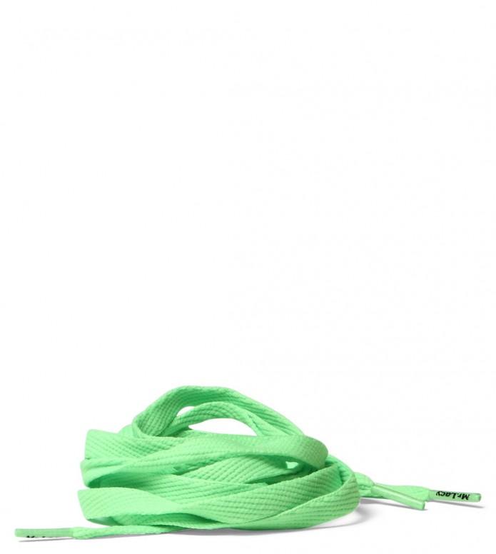 Mr. Lacy Laces Flatties green neon 130 cm