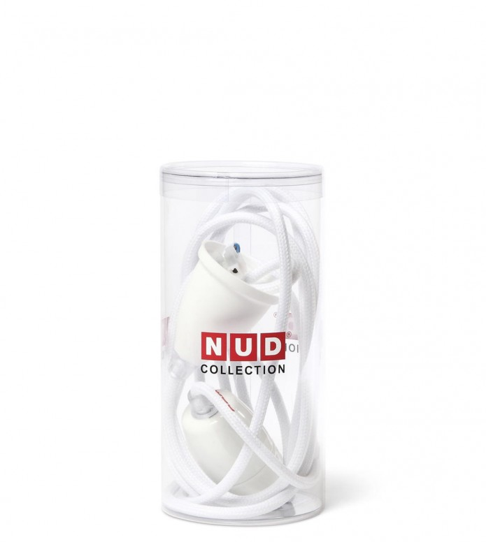 Nud Collection Nud Classic Cord & Socket white wimbledon