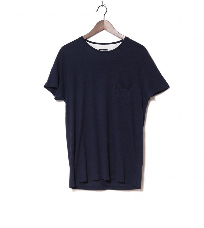 Freitag T-Shirt Male blue dark