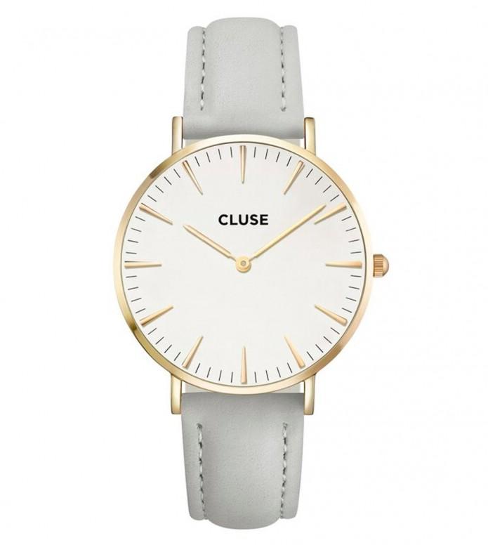 Cluse Cluse Watch La Boheme grey/white gold