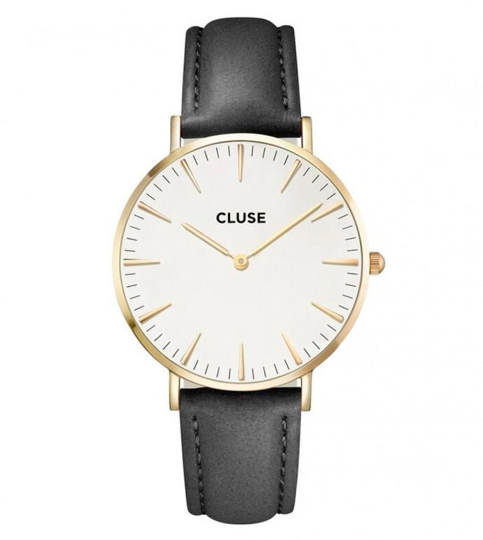 Cluse Cluse Watch La Boheme black/white gold