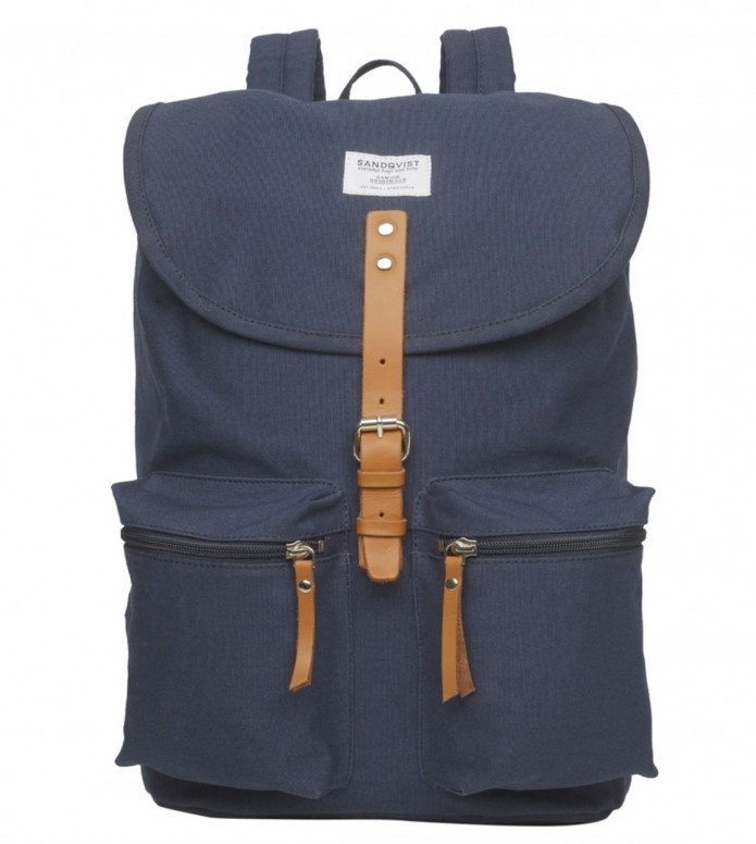 Sandqvist Sandqvist Backpack Roald blue