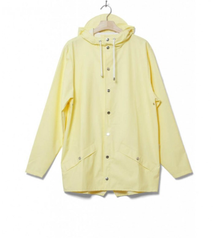 Rains Rains Rainjacket Short yellow wax