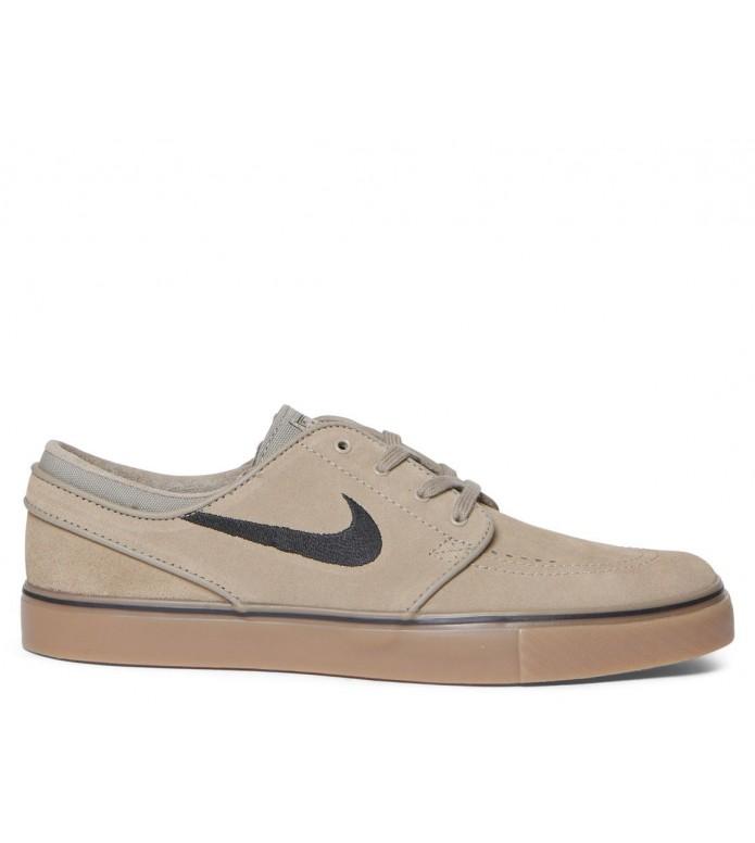 Nike SB Nike SB Shoes Janoski brown khaki/black-gum light brown