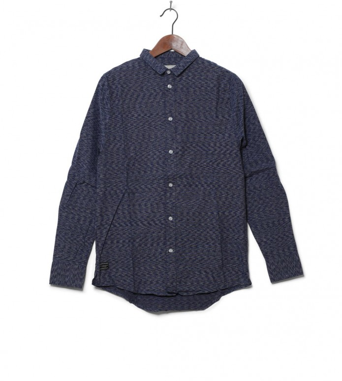 Revolution Shirt 3536 blue navy M