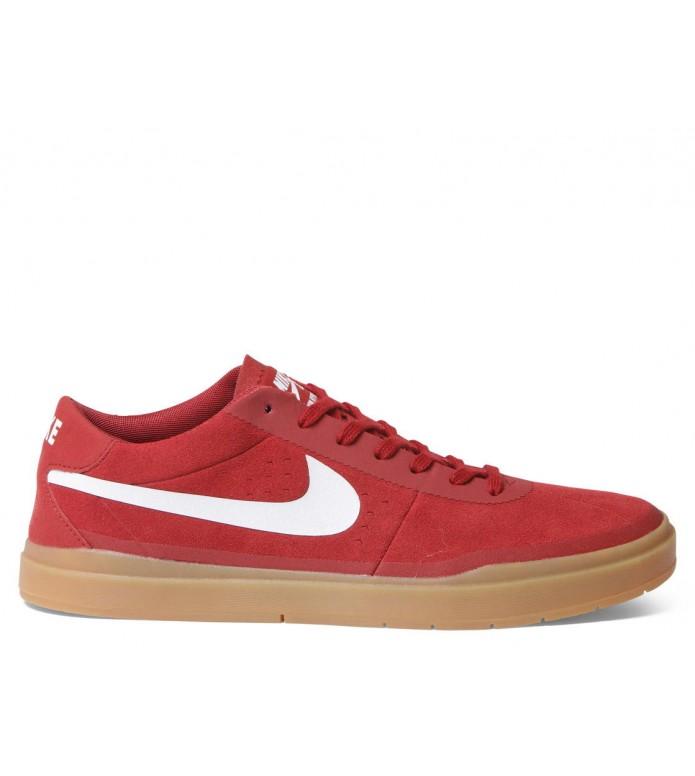 Nike SB Nike SB Shoes Bruin Hyperfeel red dark cayenne/white