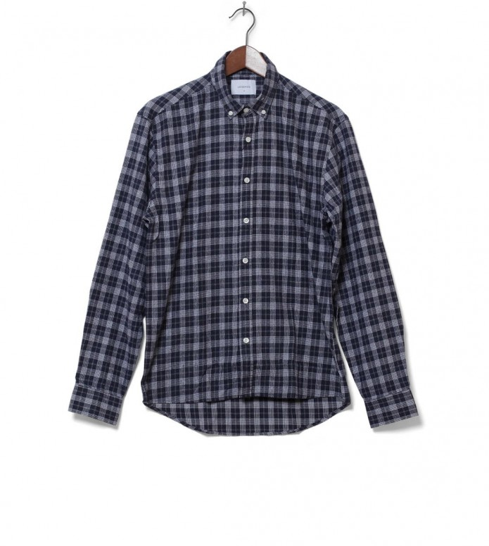 Legends Shirt Coast Flannel blue navy/white