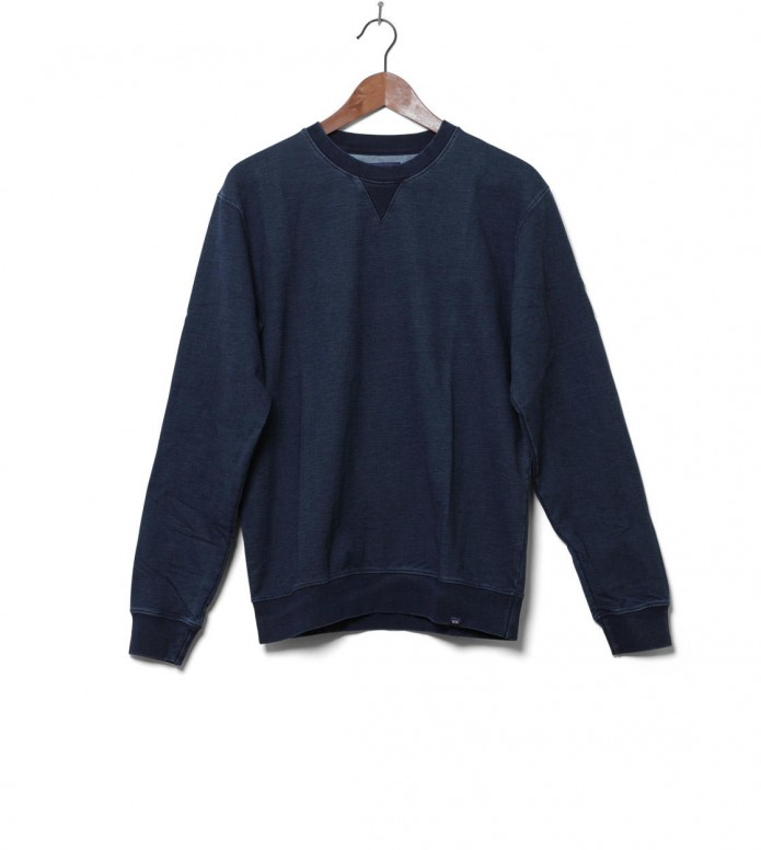 Wood Wood Sweater Houston blue indigo M