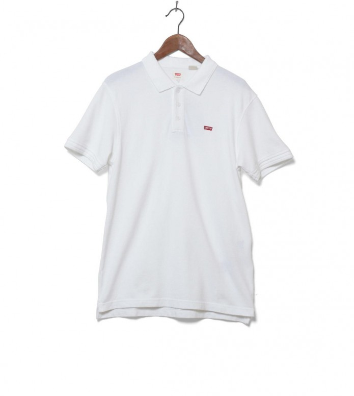 Levis Polo Housemark white bright L