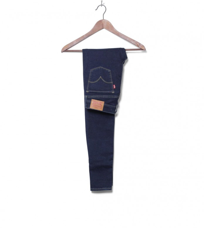 Levis W Jeans 710 Super Skinny blue high society 26/32