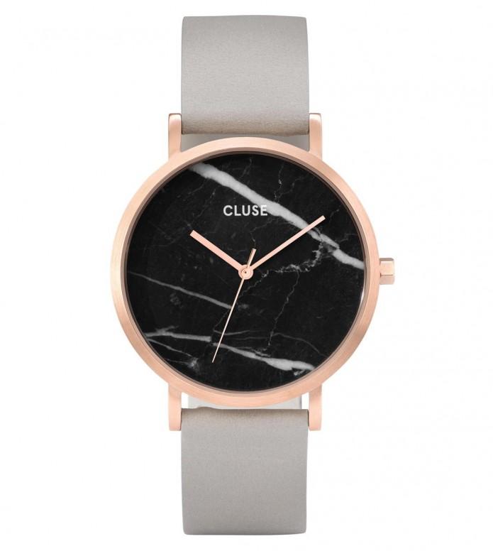Cluse Cluse Watch La Roche grey/black marble rosegold