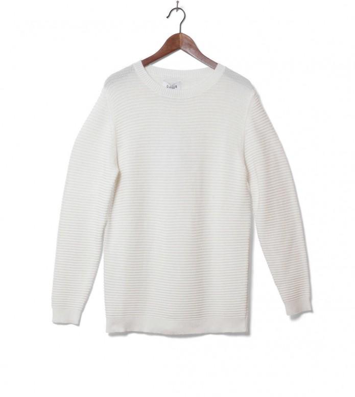 Ontour Knit Pullover Hillside white offwhite M
