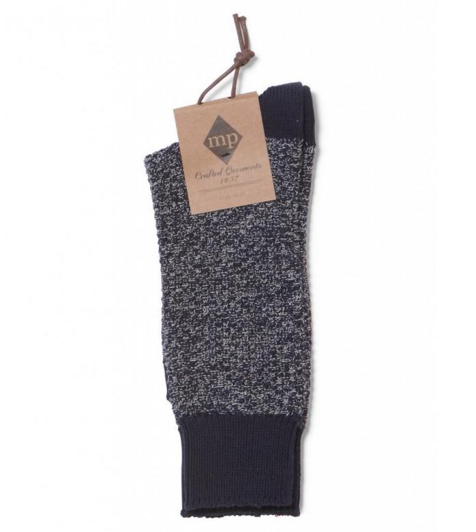 MP Crafted Garments Socks Hugo blue 41/43