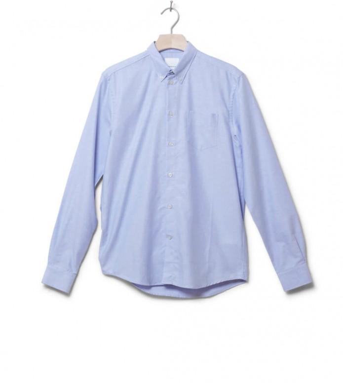 Wood Wood Shirt Timothy blue skyway S