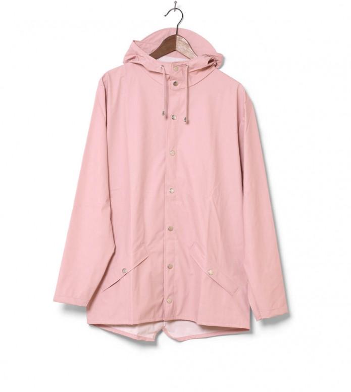 Rains Rains Rainjacket Short pink rose