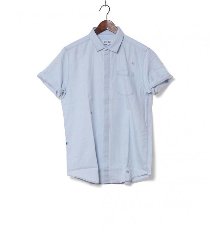 Ontour Shirt Roundtrip blue denim bleach S