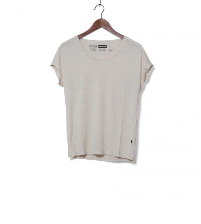 Freitag W T-Shirt Scoop Neck beige nature