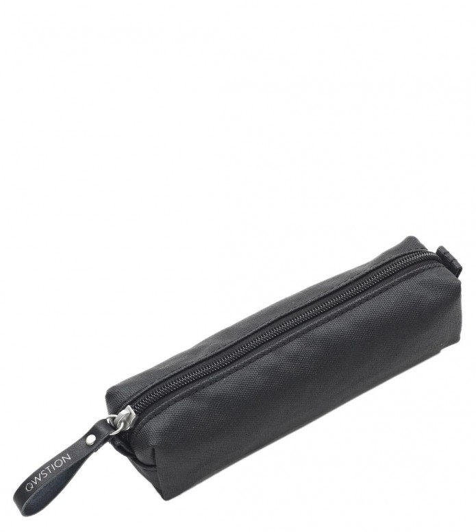 Qwstion Qwstion Pencil Case organic jet black