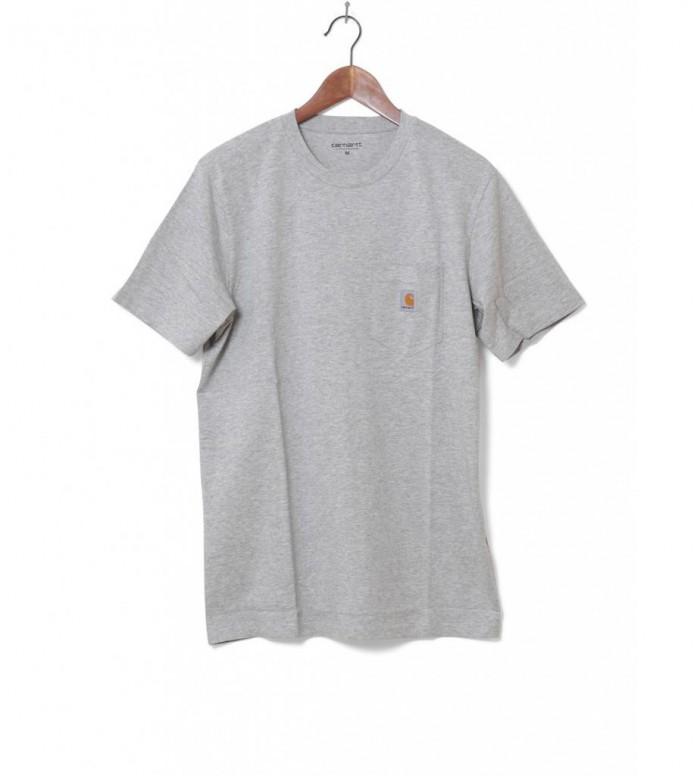 Carhartt WIP T-Shirt Pocket grey heather M