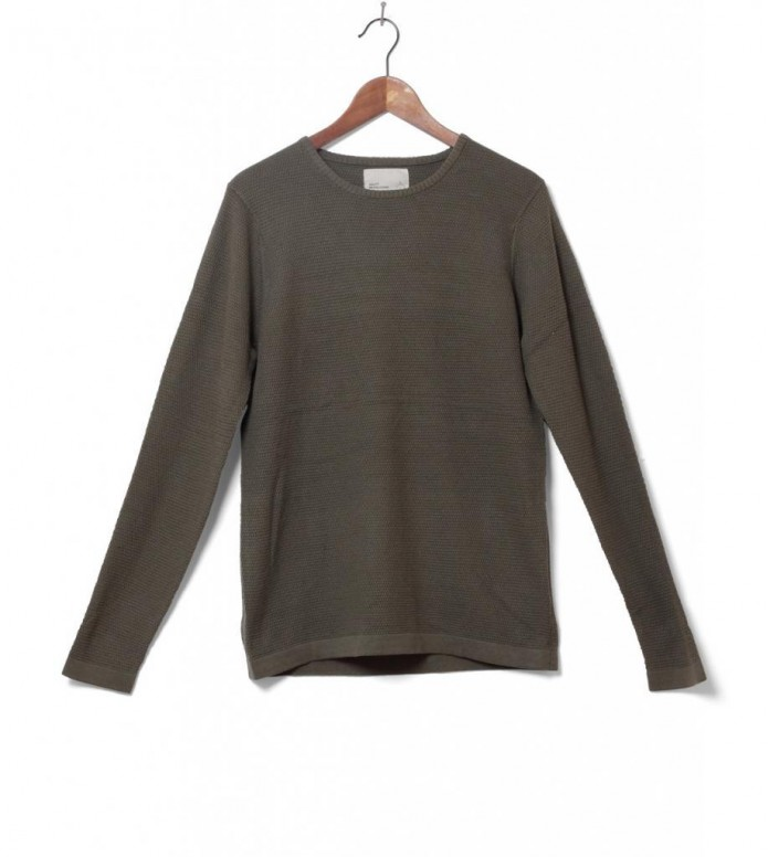 Revolution Knit Pullover 6003 green army S