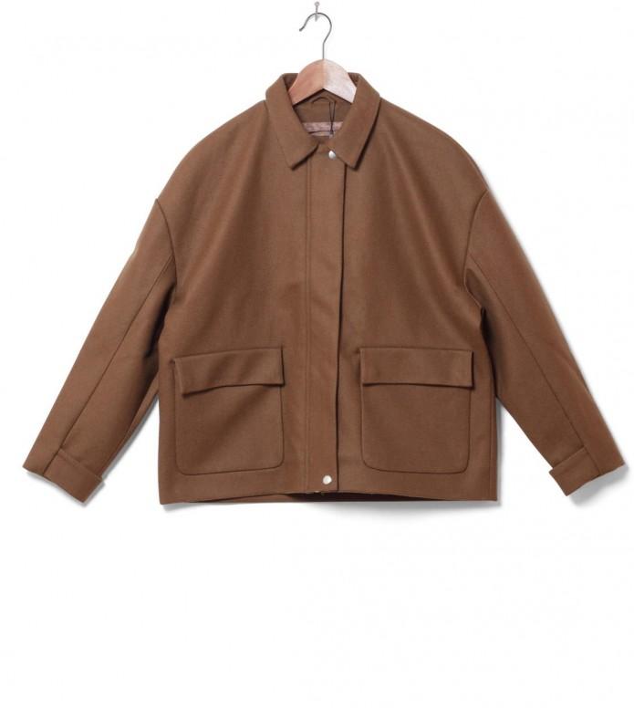 Selfhood Selfhood W Coat 77060 brown khaki