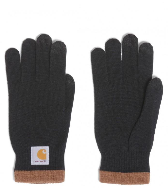 Carhartt WIP Gloves Tactile black/hamilton brown