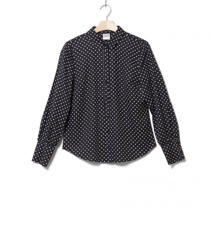 Selected Femme Shirt Sfmillado black/snow white dot S