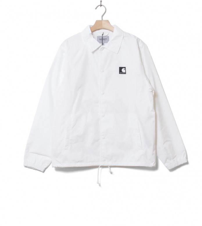 Carhartt WIP Jacket Sports Coach white/black L