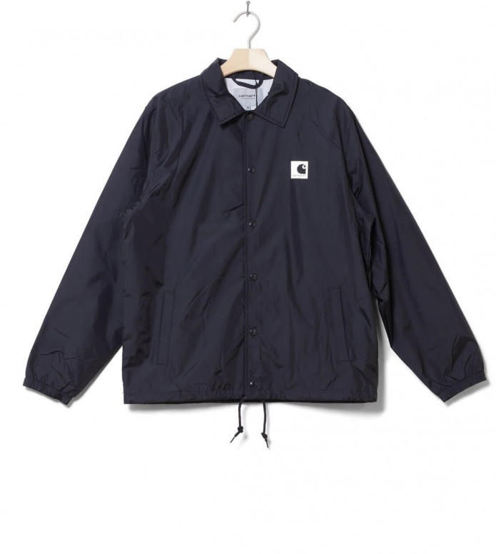 Carhartt WIP Jacket Sports Coach blue dark navy/wax M