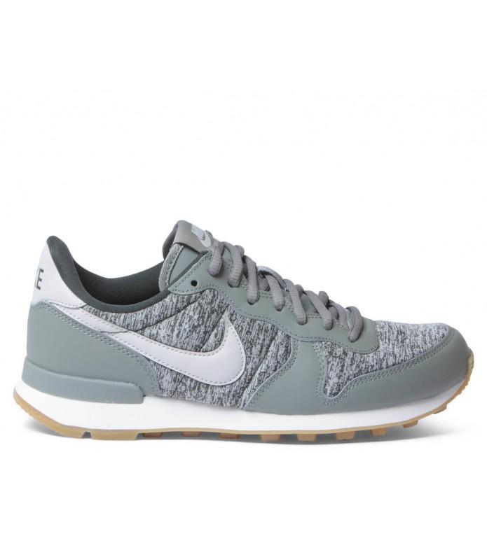 Nike Nike W Shoes Internationalist green dark stucco/light bone-sequoia