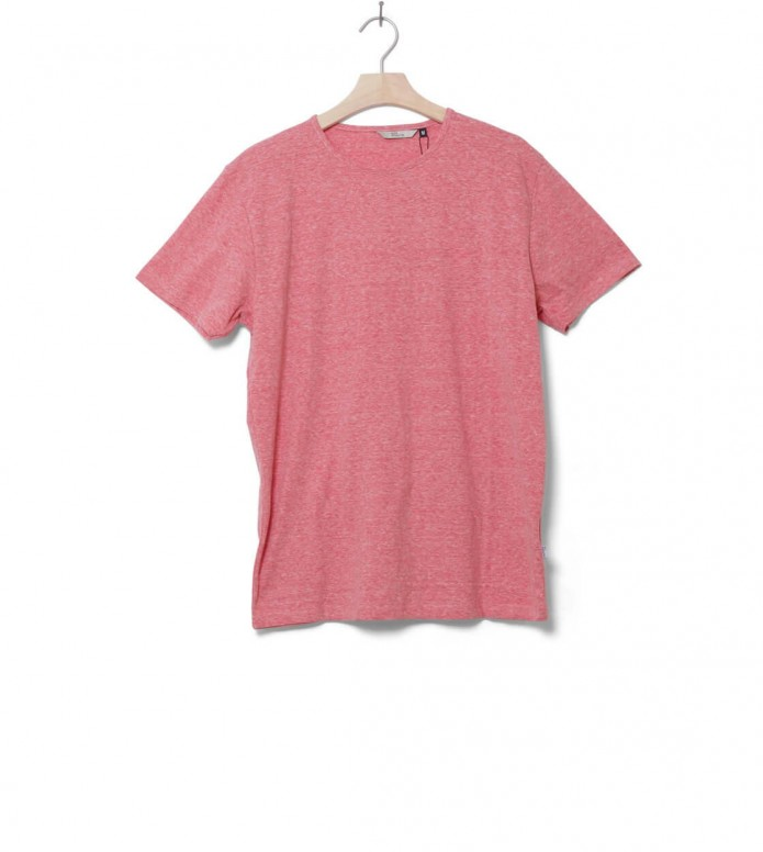 Revolution T-Shirt 1001 red-melange