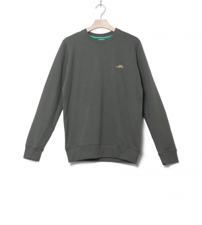 Revolution Sweater 2539 green army L