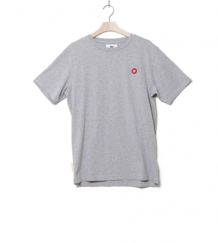 Wood Wood T-Shirt Ace grey melange L