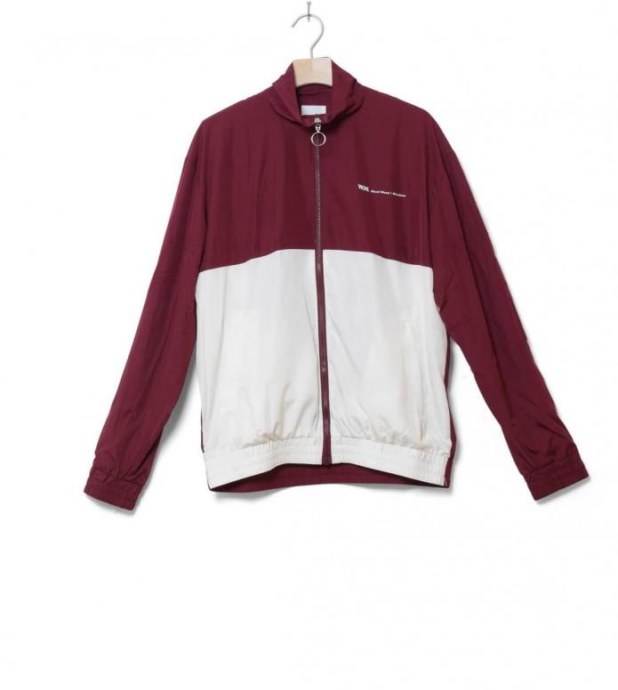 Wood Wood Jacket Homer red dark/off-white M