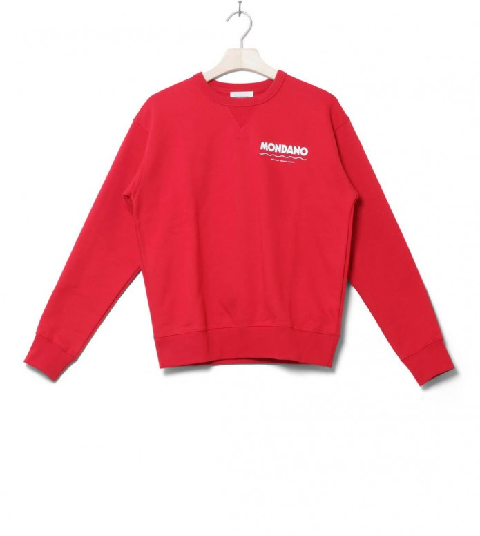 Wood Wood W Pullover Flora red XS