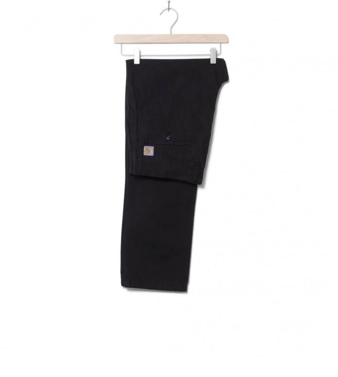 Carhartt WIP Pants Johnson Midvale black