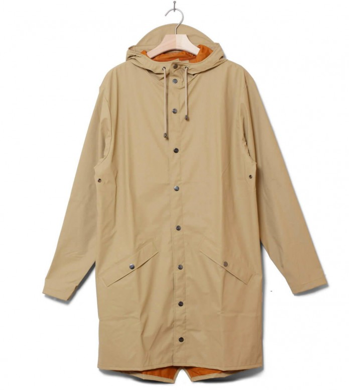 Rains Rains Rainjacket Long beige desert