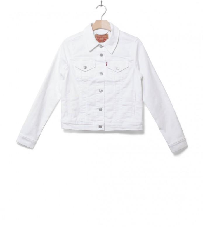 Levis W Jacket Original Trucker white soft M