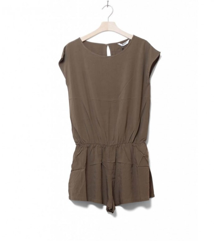 Wemoto W Dress Jupiter green olive XS